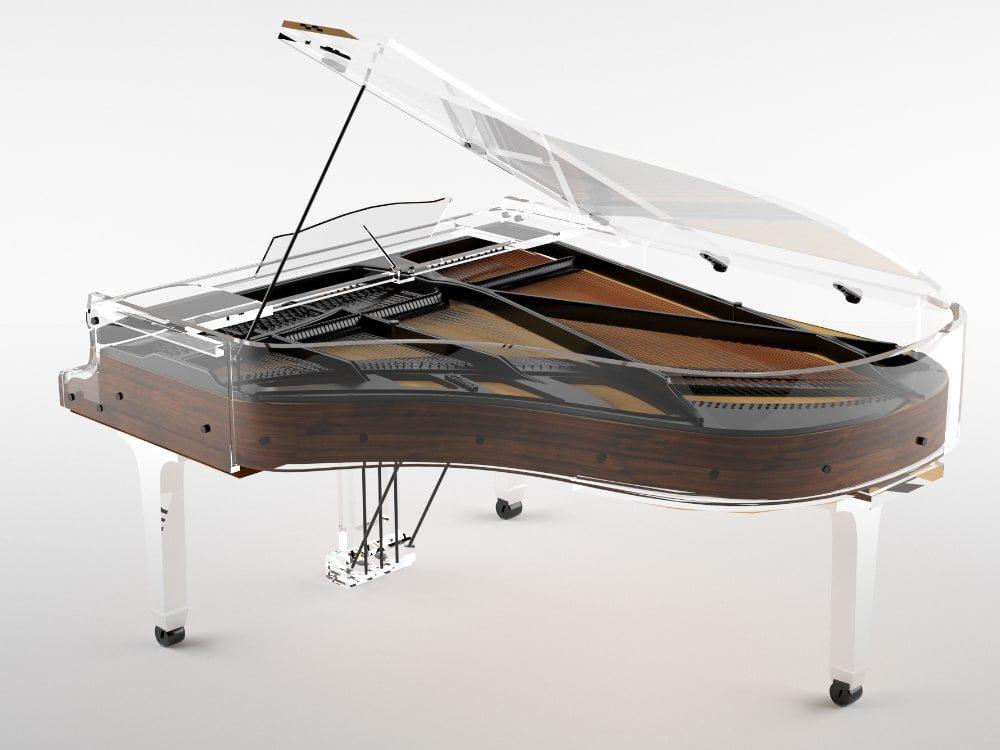 Lucid Elegance transparent piano_2