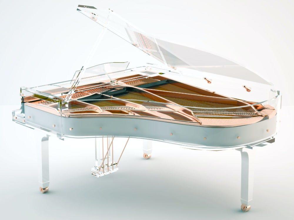 Lucid Elegance transparent piano_3