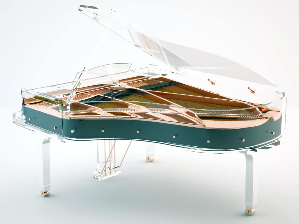 Lucid Elegance transparent piano_4