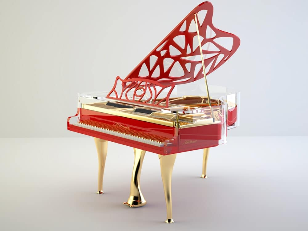Lucid Hive Elegance grand piano