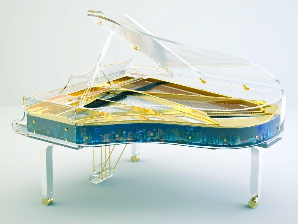 Lucid Panoramic transparent piano_2