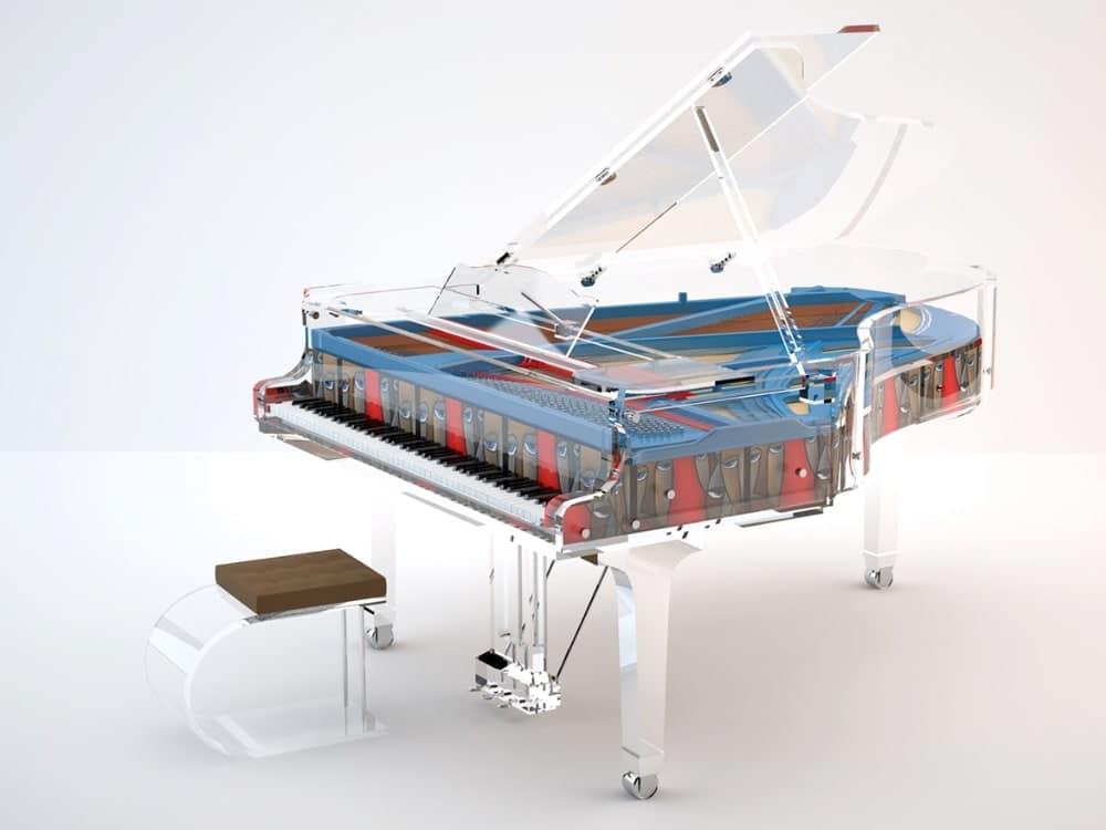 Lucid Panoramic grand piano