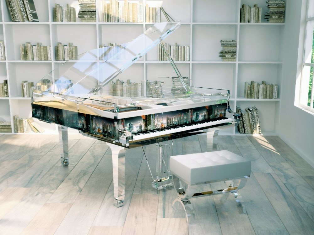 Lucid Panoramic transparent piano_5