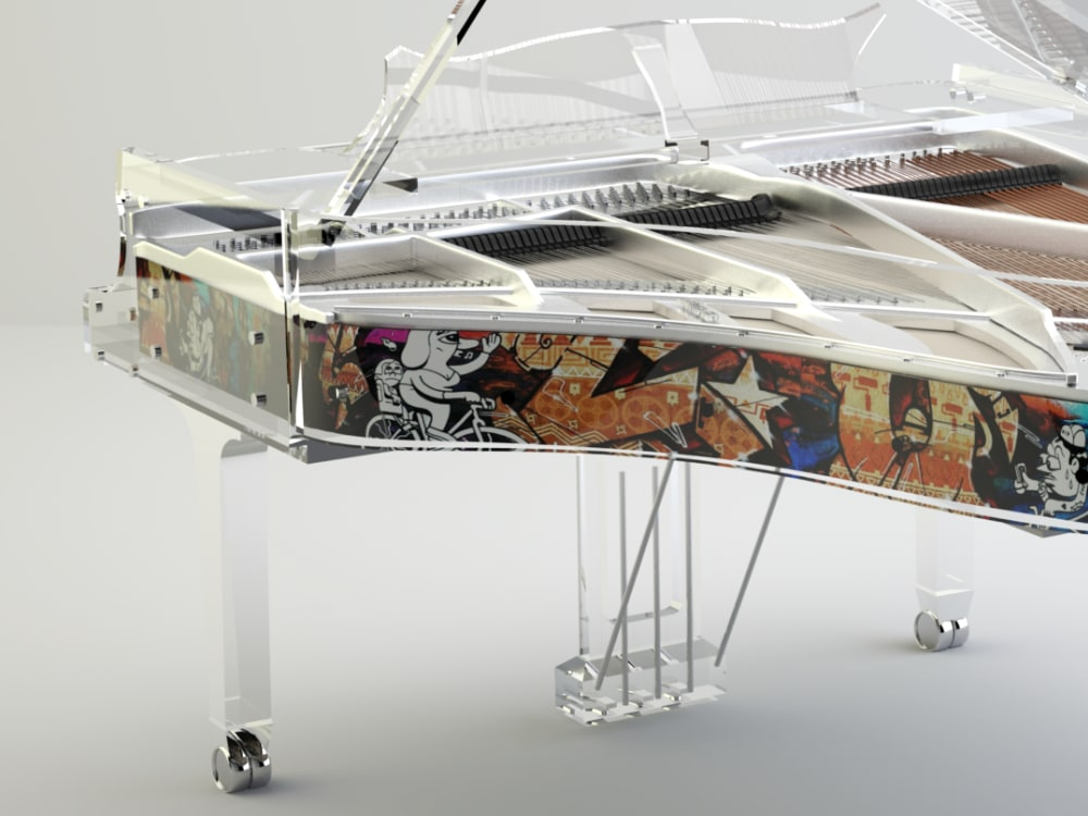 Lucid Panoramic transparent piano_6