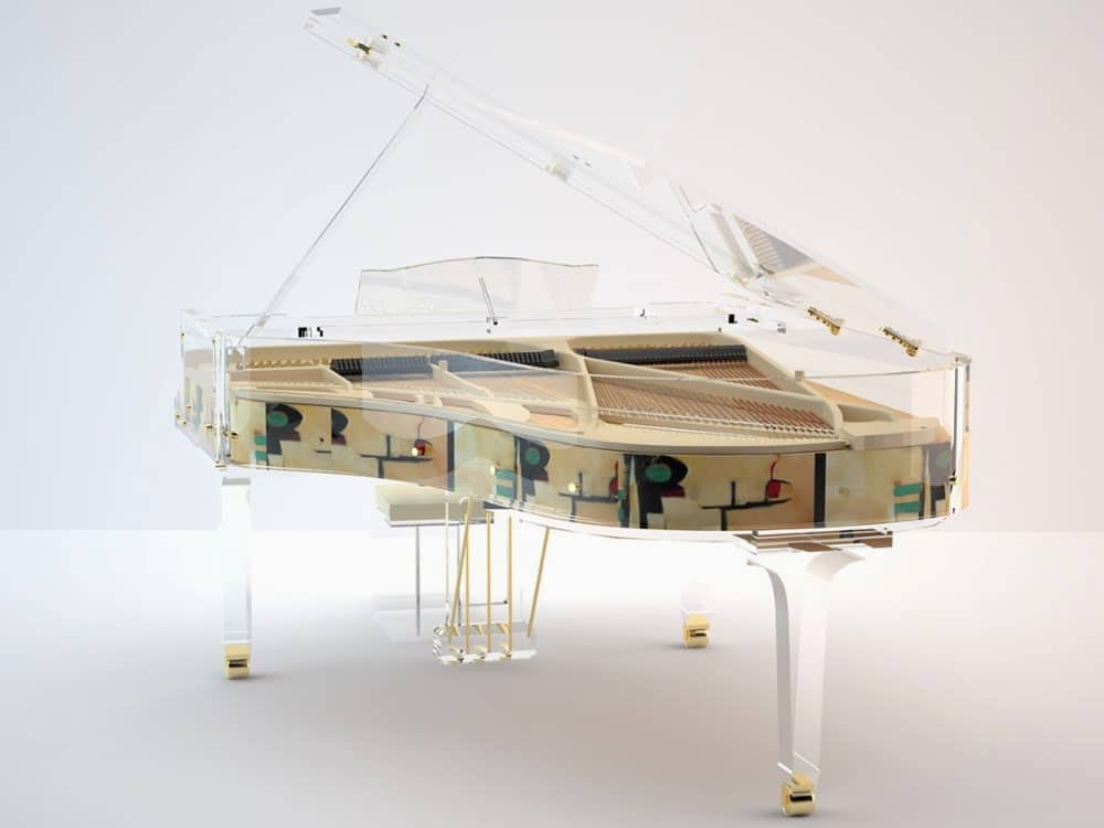 Lucid Panoramic transparent piano_8