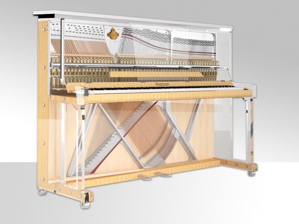 Lucid iDyllic transparent upright piano_03