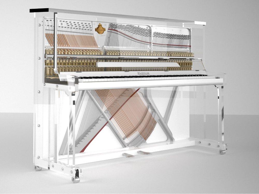 Lucid iDyllic transparent upright piano_04