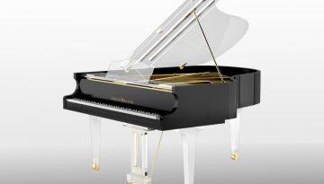 Translucid Acrylic Transparent Piano_9