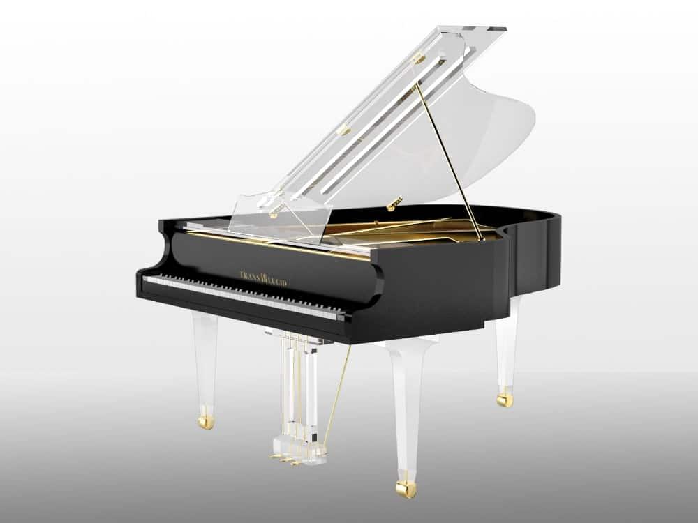Translucid grand piano