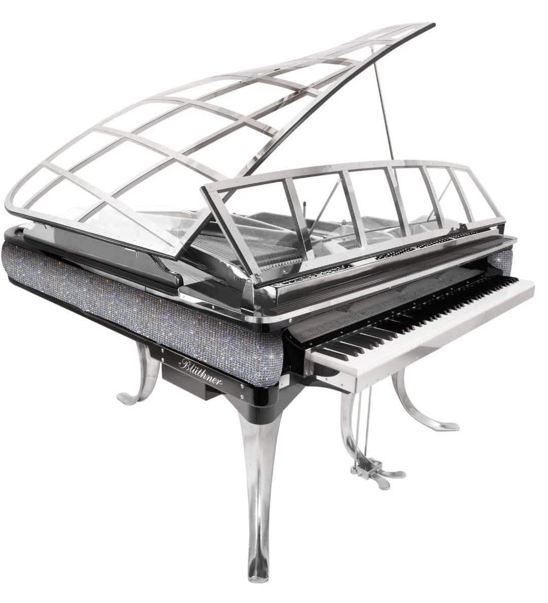Bluthner PH swarovski crystals piano