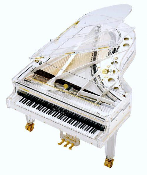 Schimmel glass piano