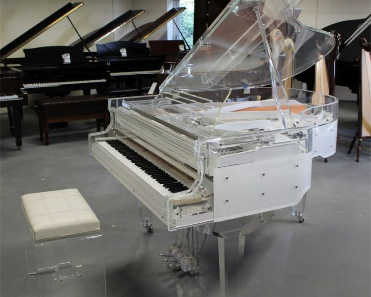 Steinhoven SG 170 crystal transparent piano
