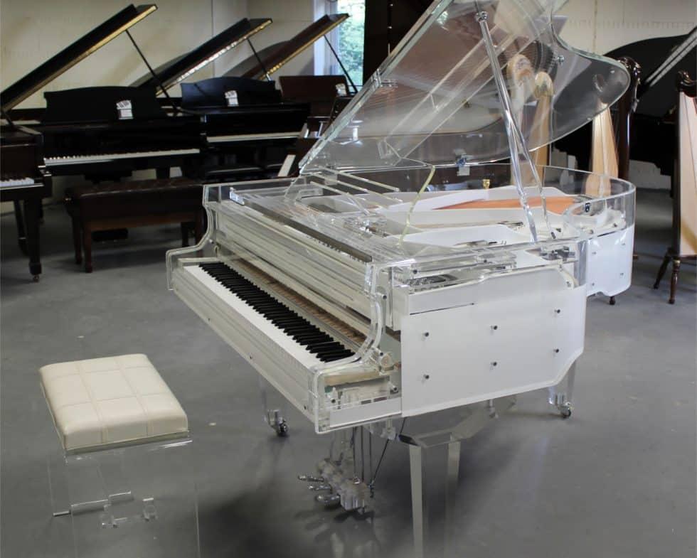Steinhoven SG 170 crystal transparent piano