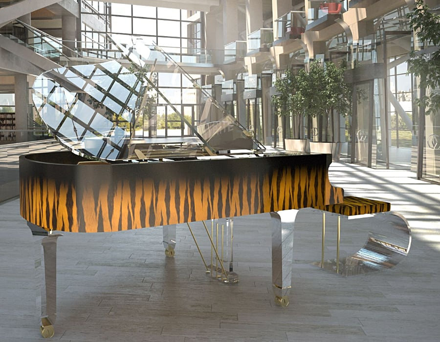 When you want to order a piano from us, your imagination may possibly be the only limitation to the piano design.