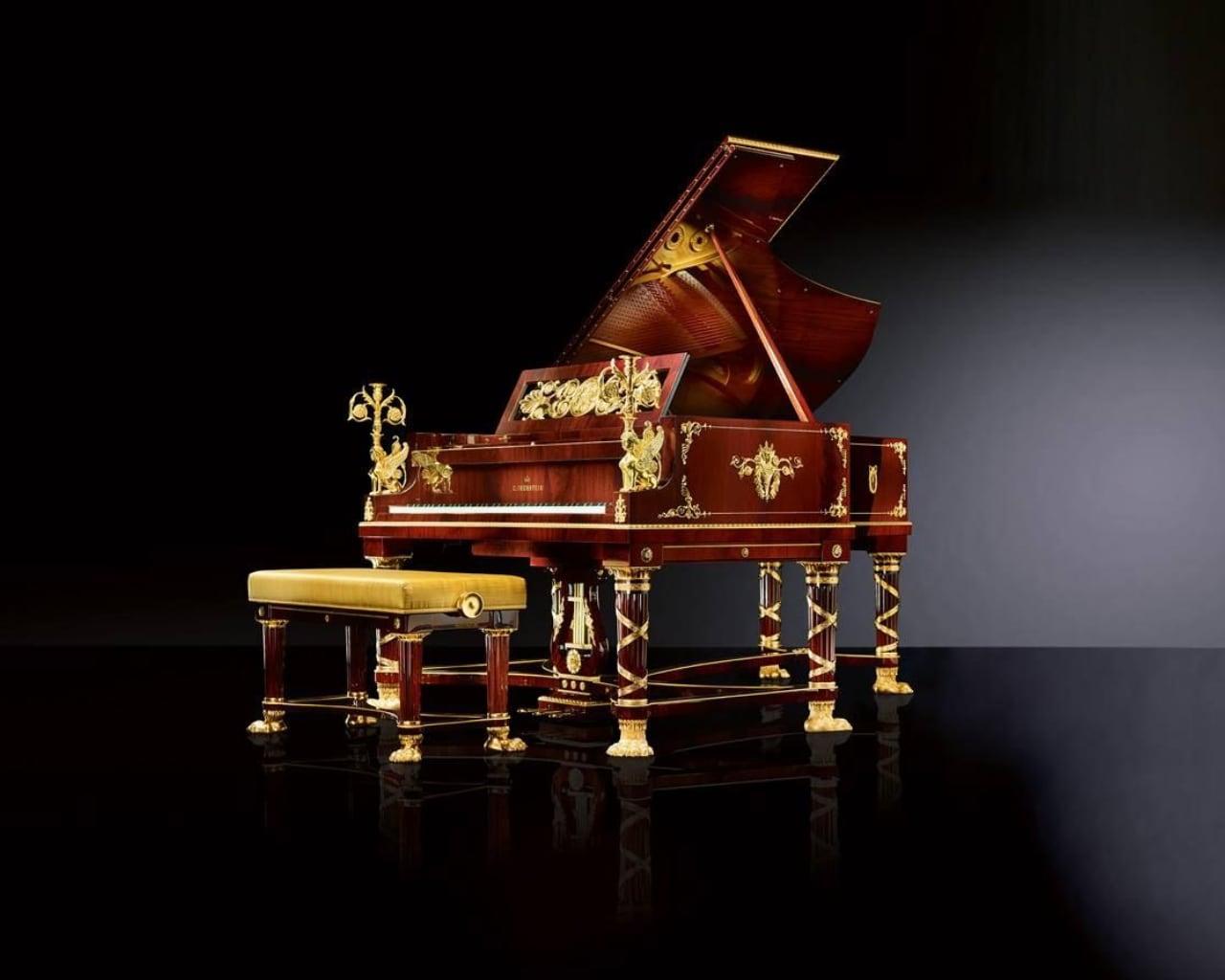 C. Bechstein Sphinx piano