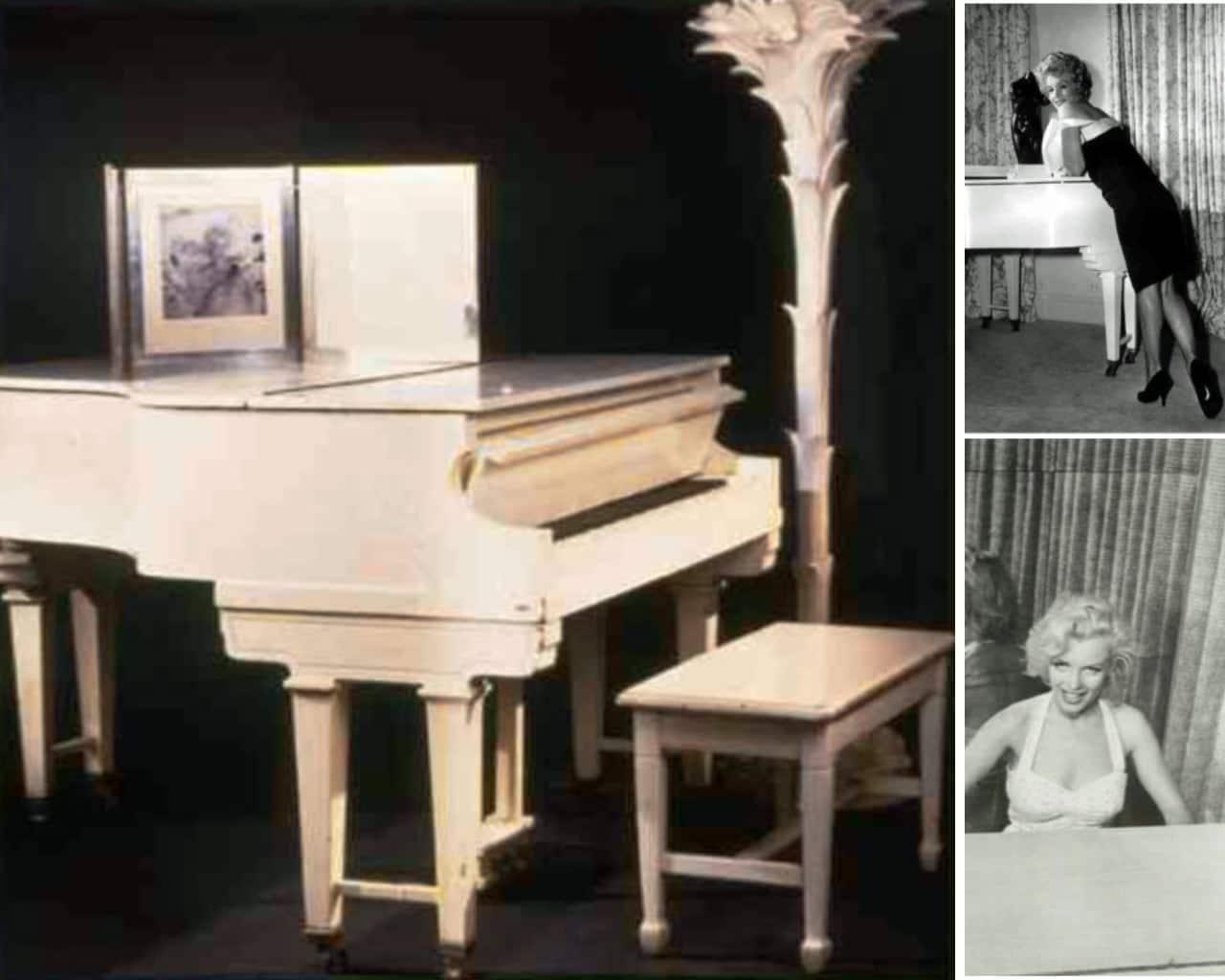 Marilyn Monroe steinway baby grand