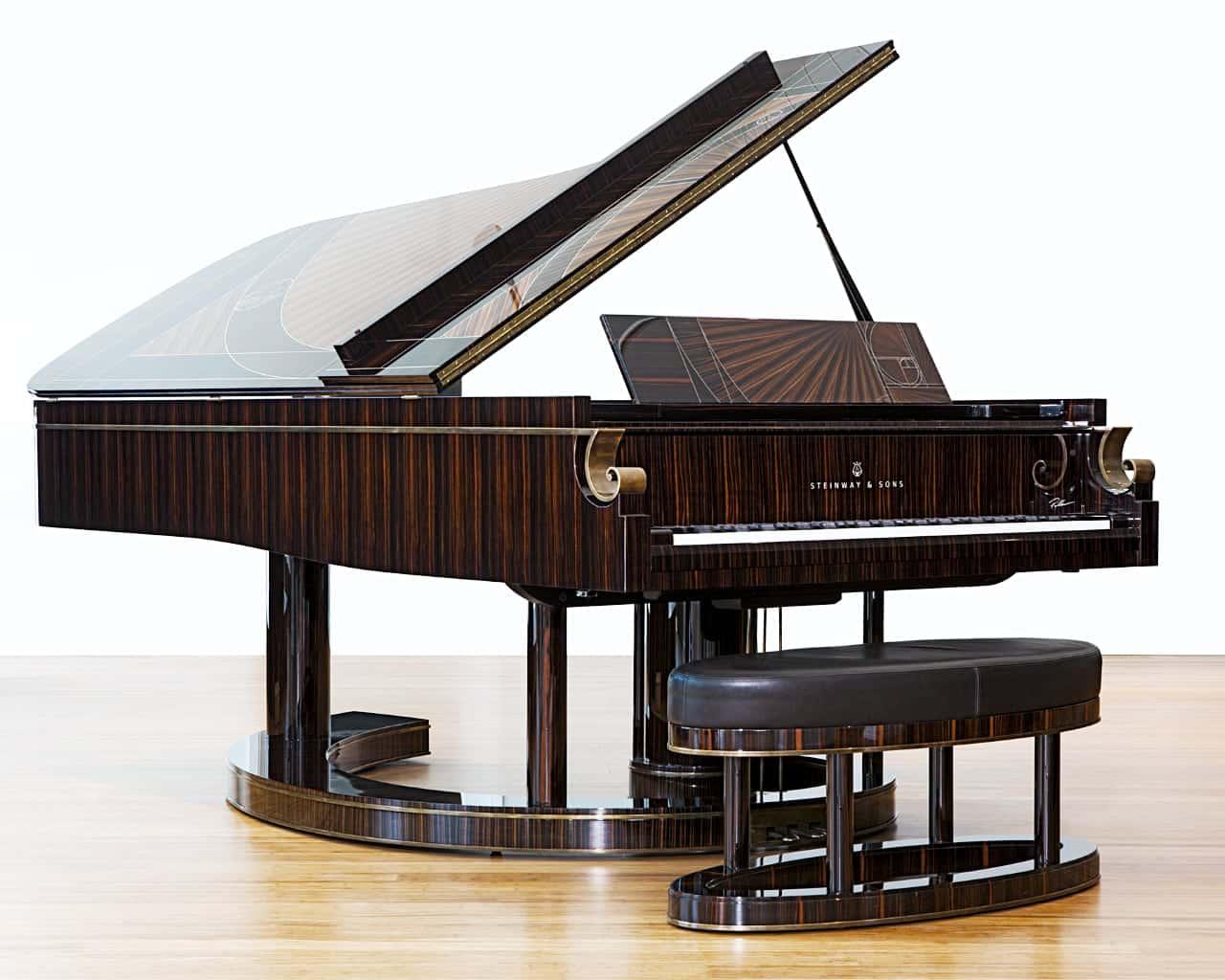 Steinway & Sons Fibonacci piano