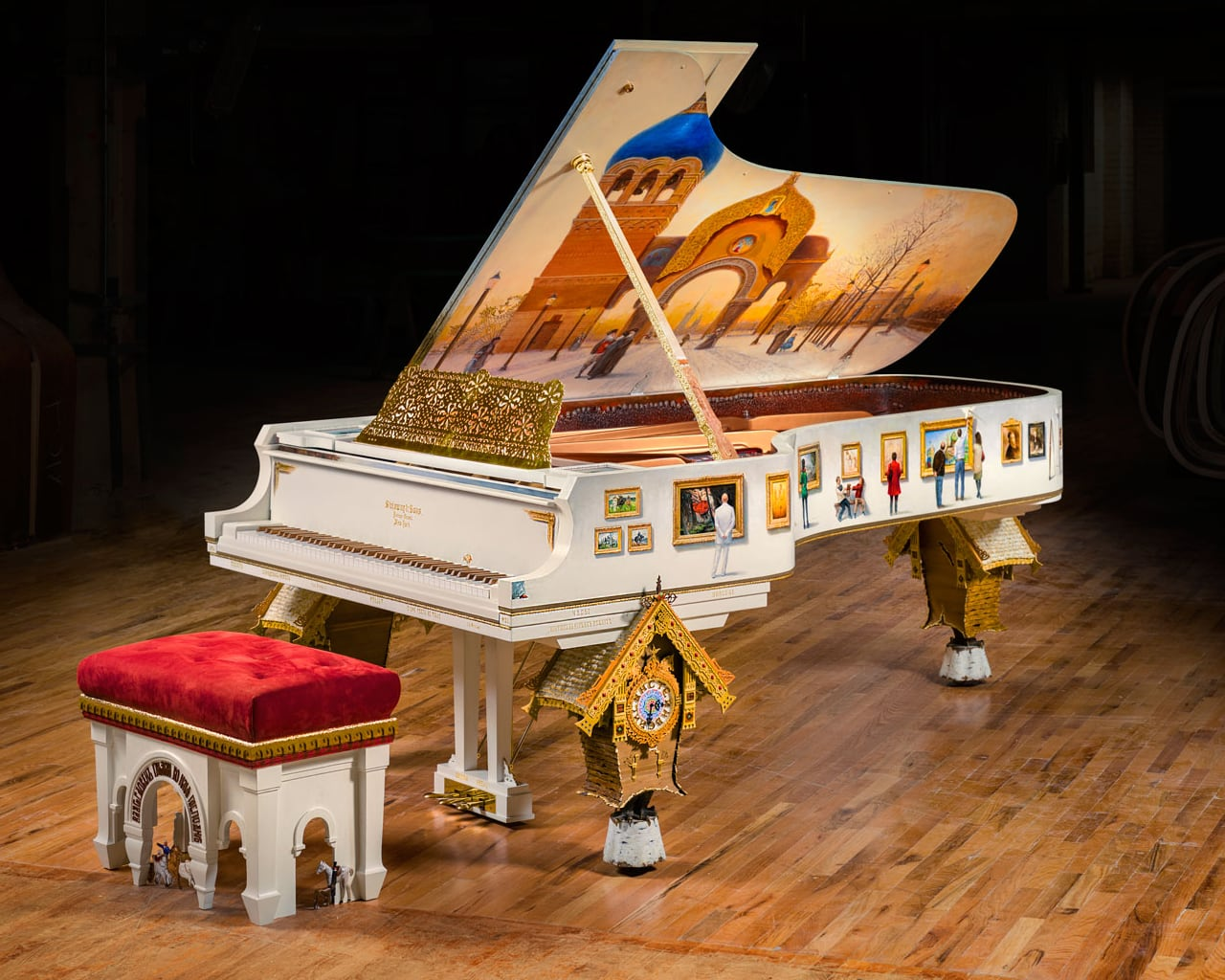 Steinway & Sons Pictures at an Exhibition