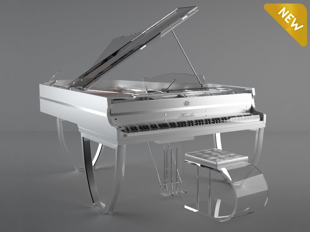 Translucid Tiara semi transparent luxury piano_01