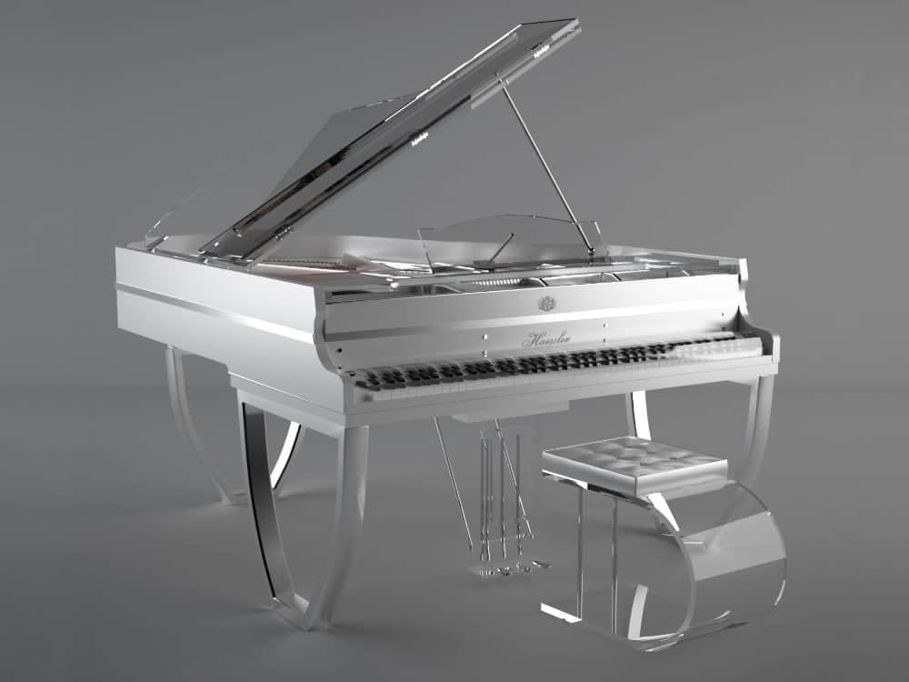 Translucid Tiara semi transparent piano_01