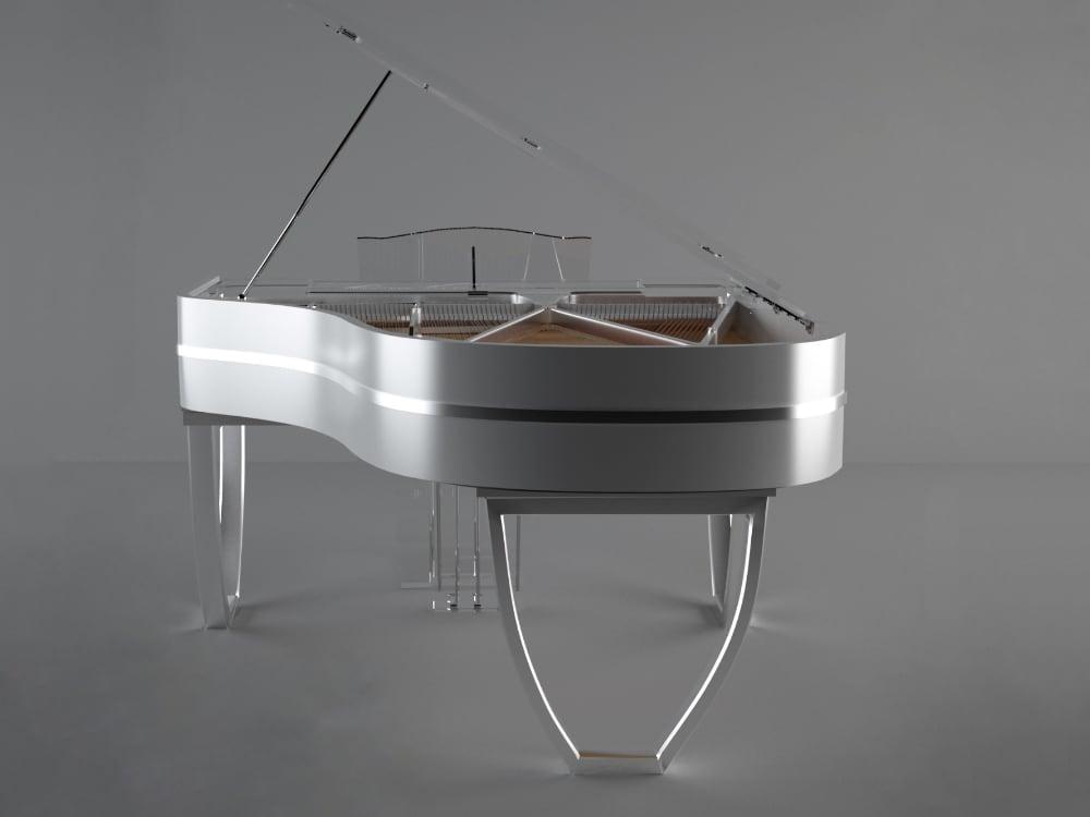 Translucid Tiara semi transparent piano_03