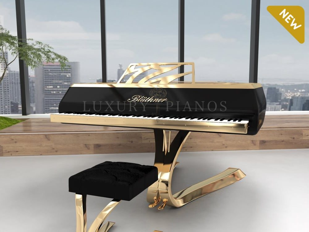 Bluthner Lucid Enzo luxury grand piano