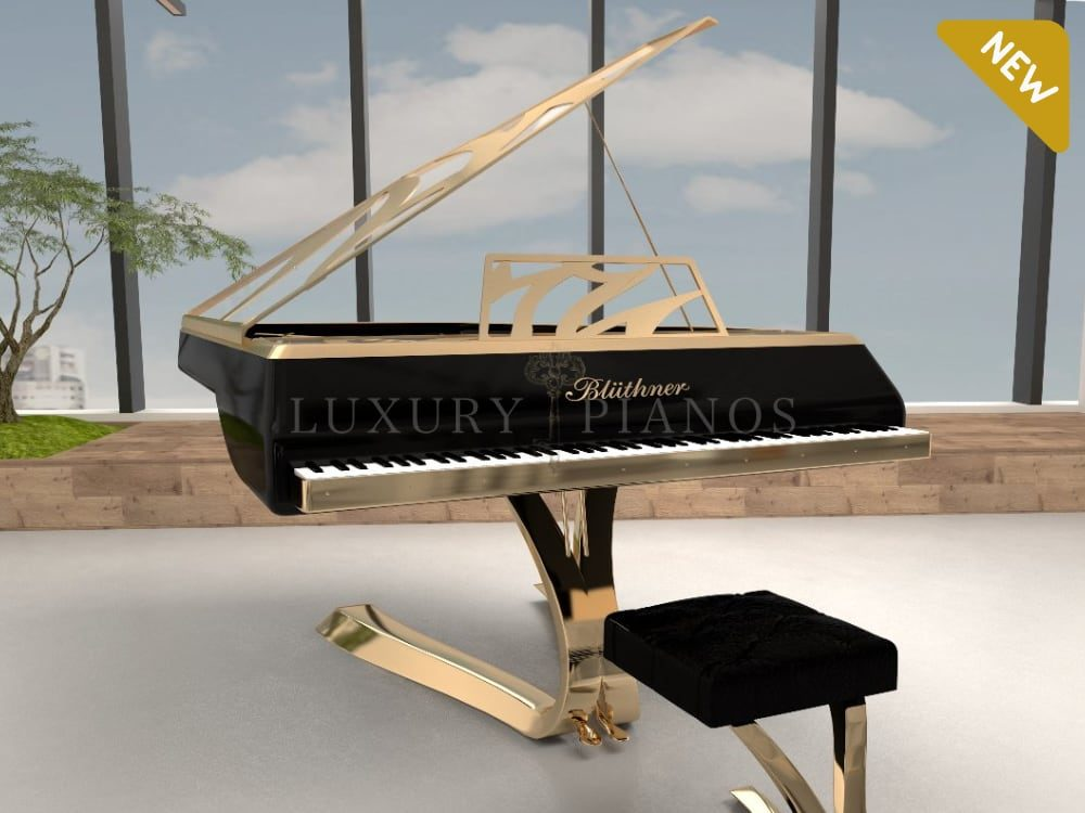 Lucid Enzo Modern Grand Piano