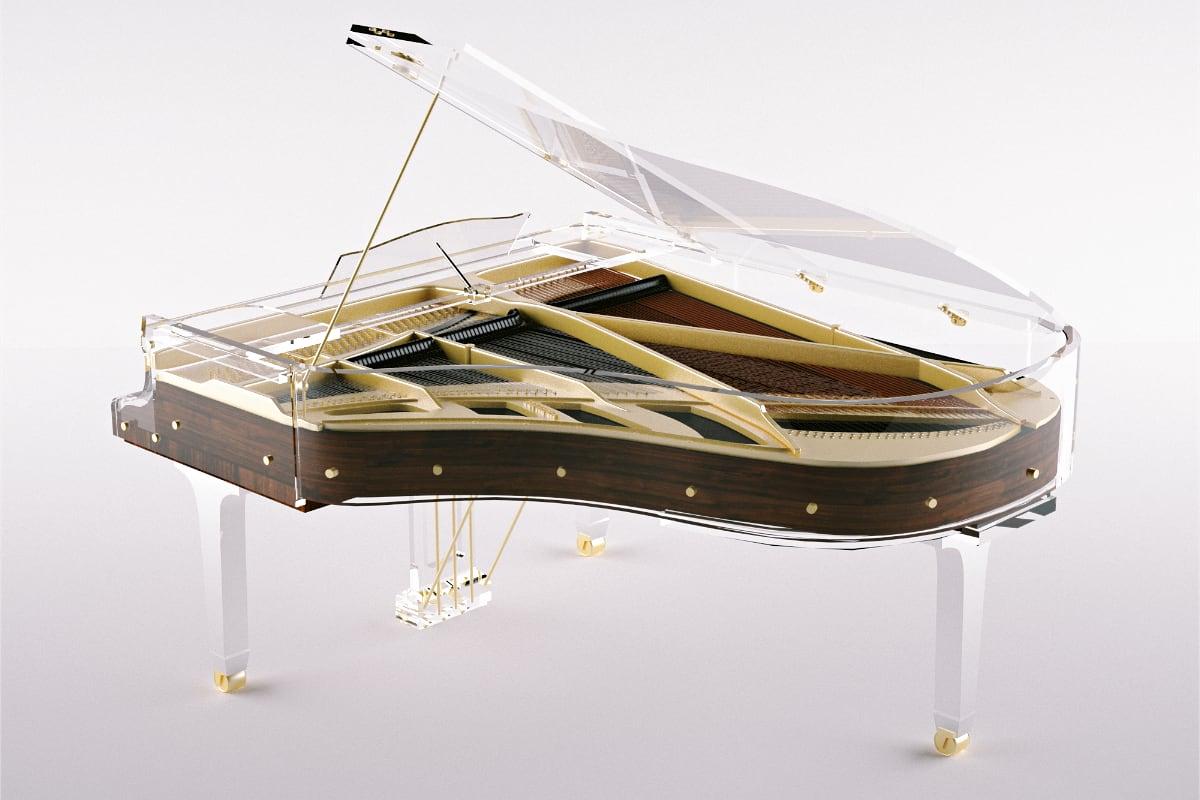 Lucid Elegance acrylic piano_03