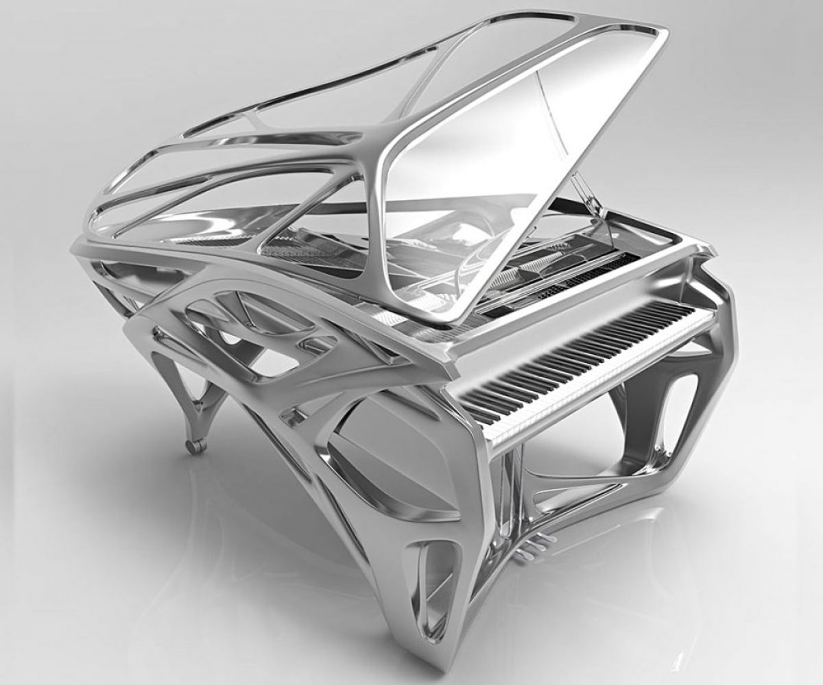 Lucid Exo 3d printed piano_04