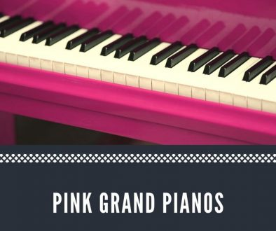 Pink grand pianos for sale