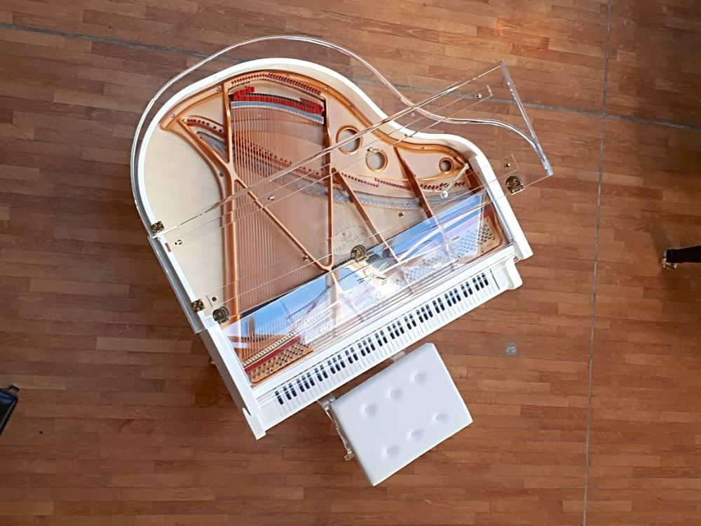 Translucid piano