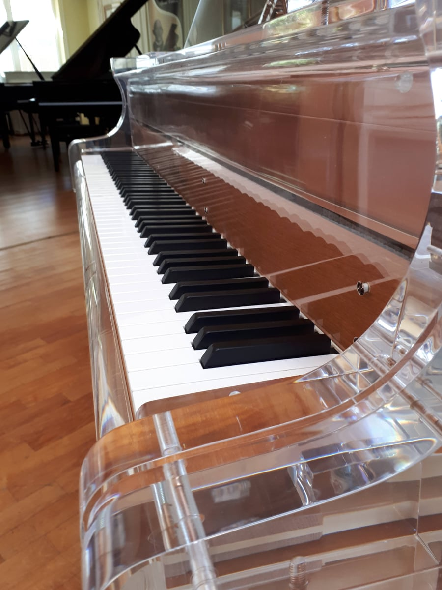 Inside every Lucid Piano is a fine Renner action built to Bluthner's specifications.