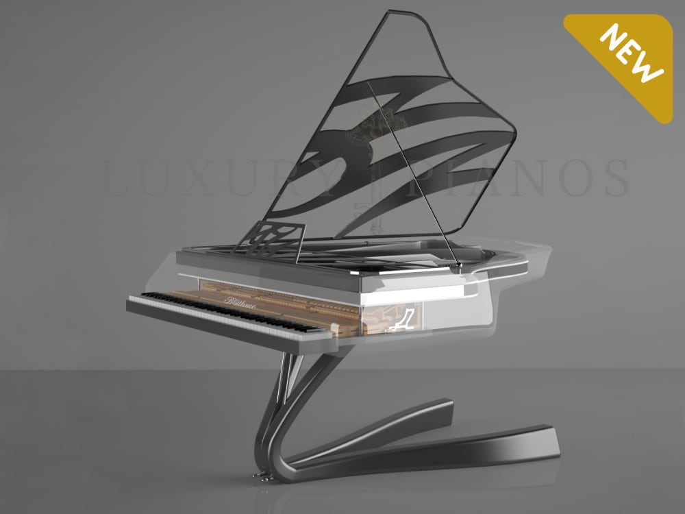 Lucid Enzo Crystal grand piano