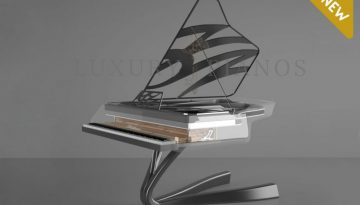 Lucid Enzo crystal piano in titanium_01