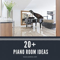 inspiring piano room ideas