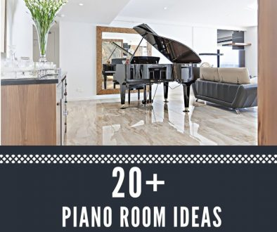 inspiring piano room ideas