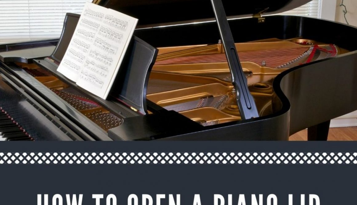 How to Open a Piano Lid