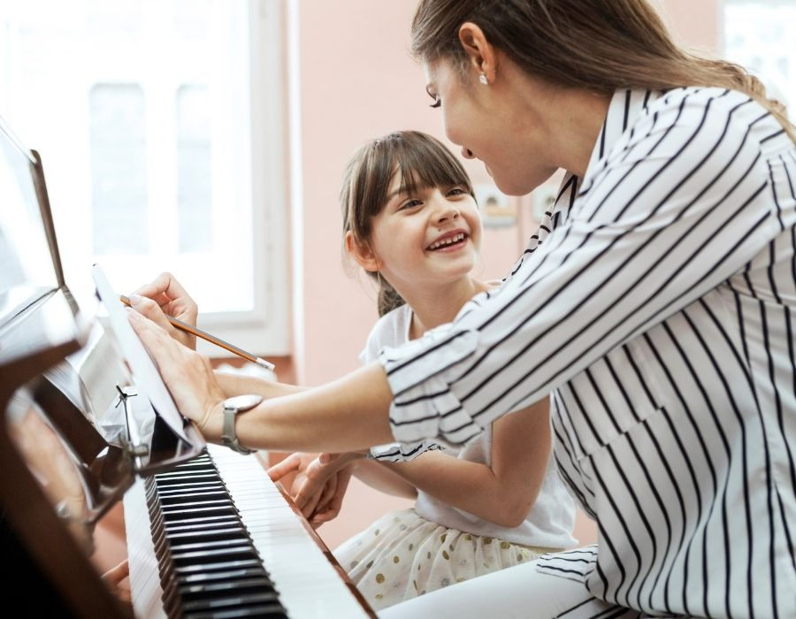 Adult learning versus childhood learning piano