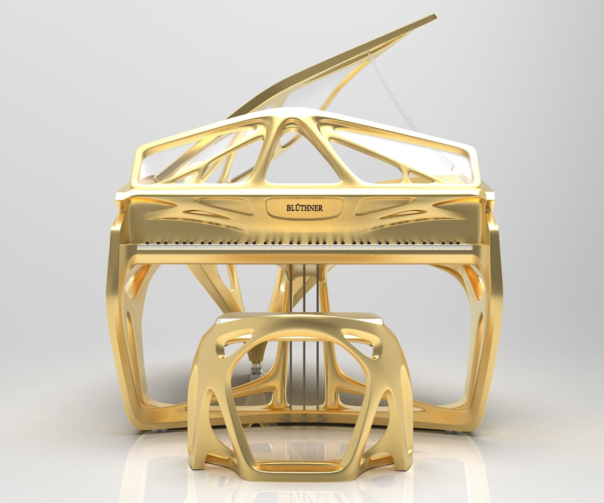 Bluthner Lucid EXO Grand Piano_09