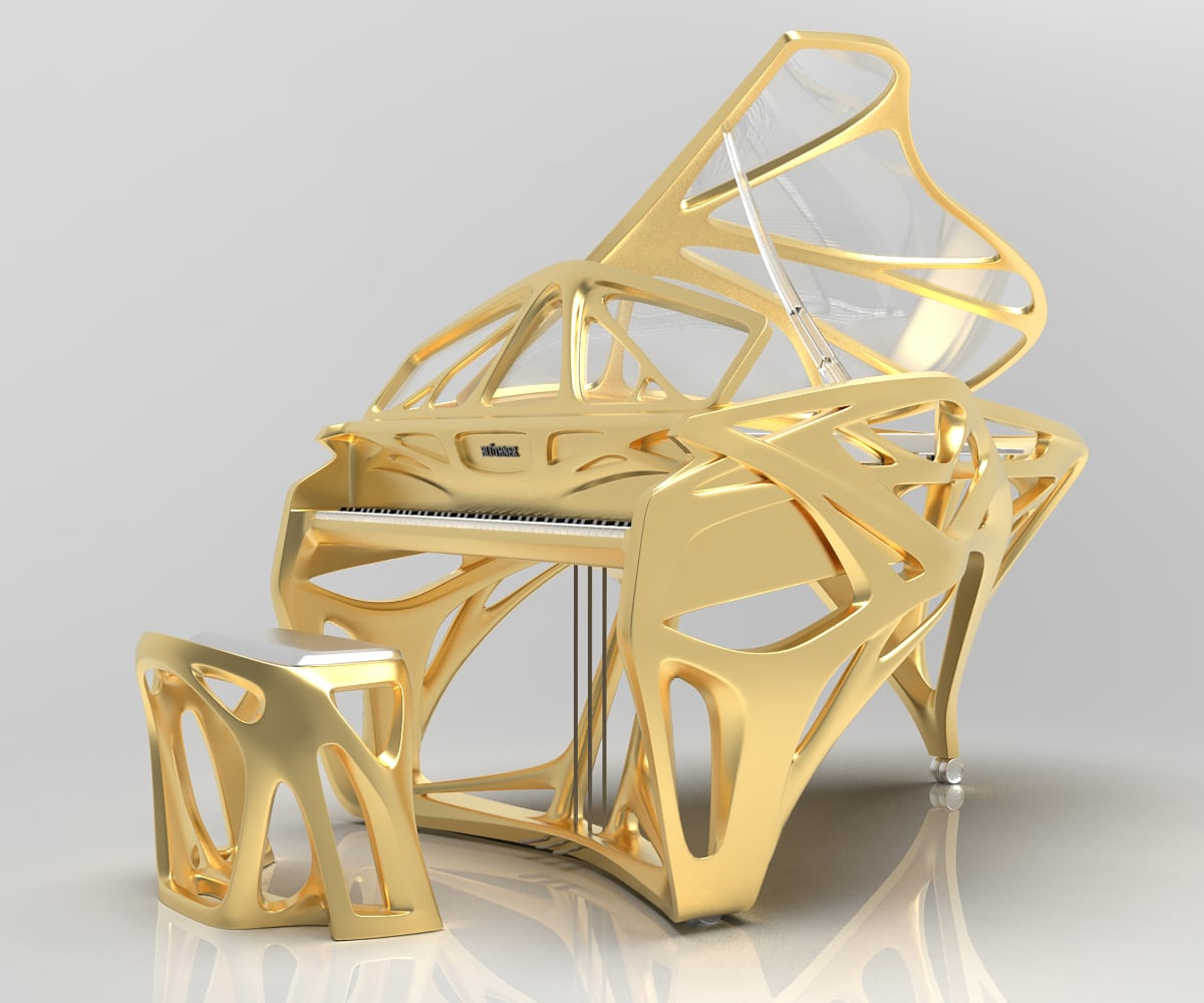 Bluthner Lucid EXO Grand Piano_10