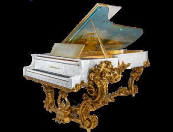 Luxury rococo pianos