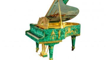 Tsar's Treasure Malachite Piano_1