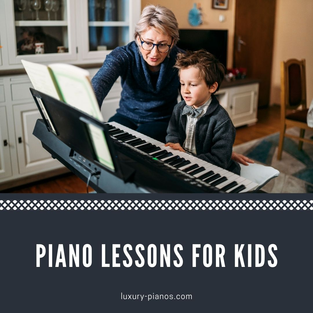 First Piano Lessons for Kids - Learning Piano Tips