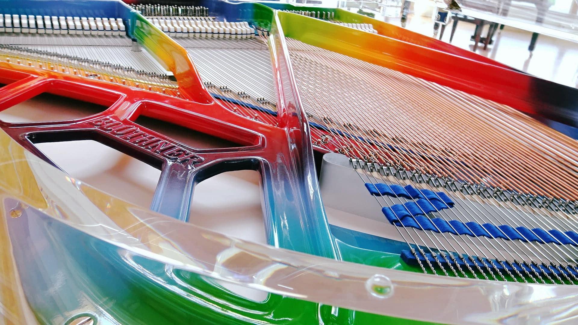 Idyloic piano interior