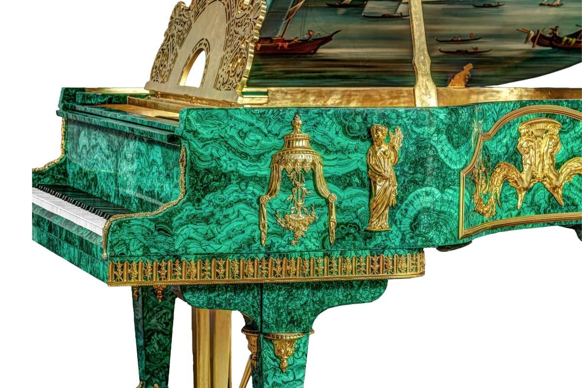 Tsar's Treasure Malachite Piano_2
