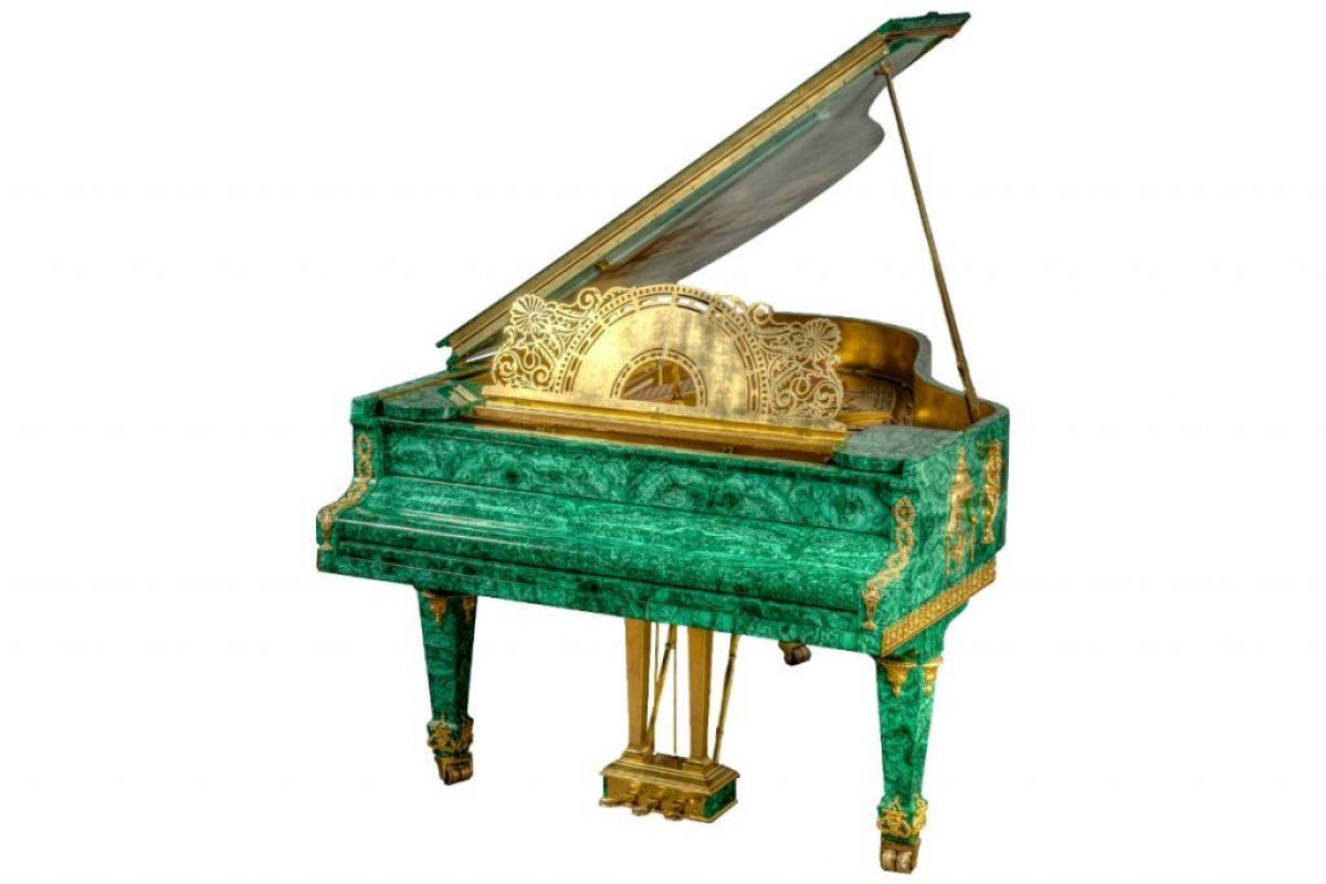 Tsar's Treasure Malachite Piano_3