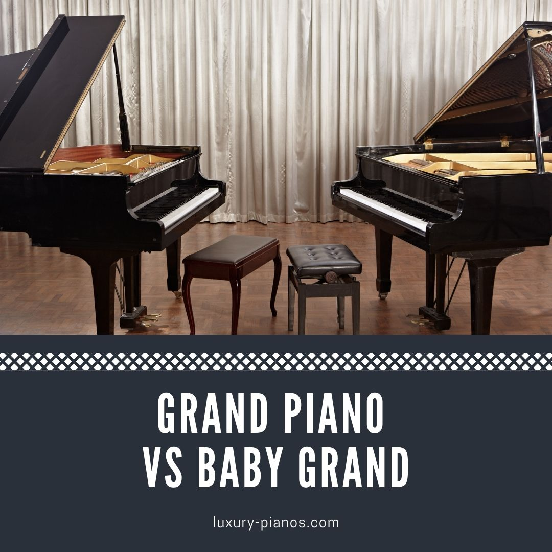 grand piano vs baby grand piano - what's the difference